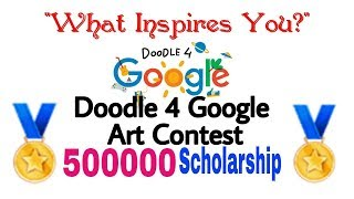 """How To Enter A Doodle 4 Google contest 2018 