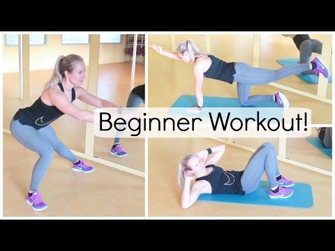 Complete 30 min. Beginner Workout - Oefeningen voor thuis