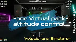 "Try-to-FPV 42 - ""indoor"" (Random Sim Flying Velocidrone)"
