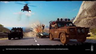 Just Cause 3 Part 6 Game Play Finish Province Find Hidden Missions PS4 Game PLay
