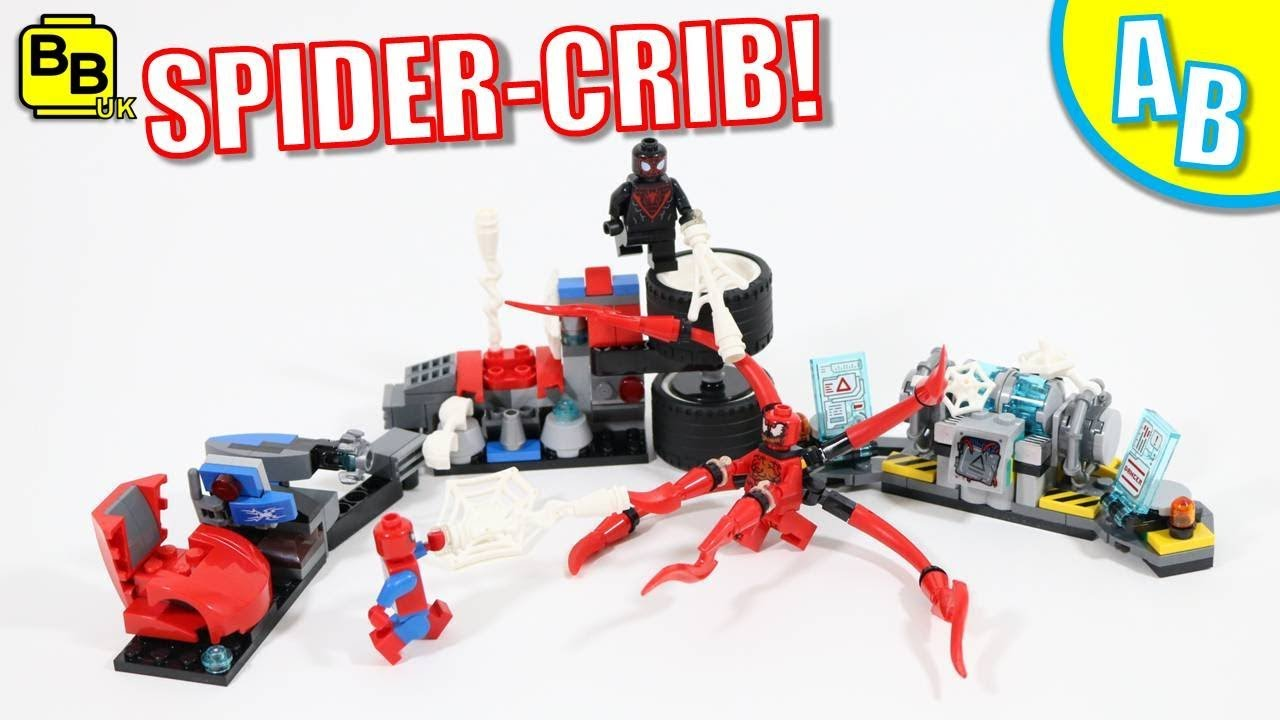 LEGO SPIDER-CRIB 76113 ALTERNATIVE BUILD!!
