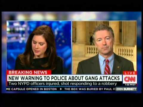 Sen Rand Paul Appears on CNN