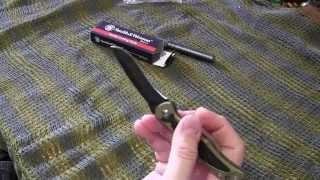 Нож rapala складной folding knife лезвие 8 5 см пласт. рукоятка