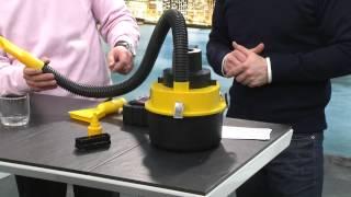Nass- und Trocken Autostaubsauger mit 12-Volt-Anschluss