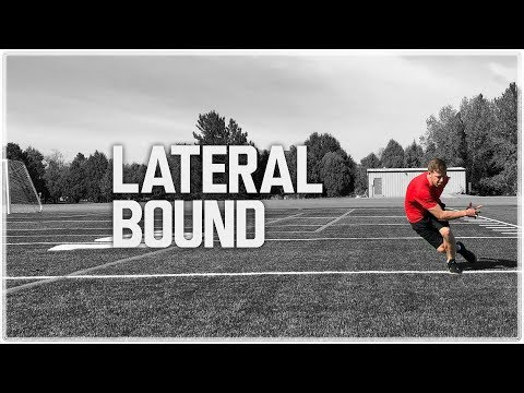Lateral Bounds 'Lateral Jumps' | Lateral Power & Agility Training
