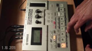 Yamaha SU-200 Hip Hop beat demo Pt. 4 (Enjoy Ya Self)