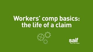 Workers' comp basics: the life of a claim (intro)