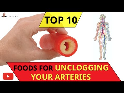 😍 ○ Top 10 Foods That Unclog Your Arteries Naturally - by Dr Sam Robbins