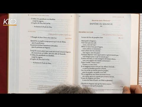 Baptême du Seigneur B - 1ère lecture