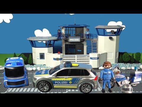 Polizeiauto 🚓| Spielzeuge Spielzeugautos von 🚨Playmobil für Kinder