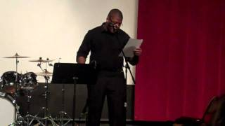 "Kiski's Got Talent: ""Never Let Me Down (by J. Ivy)"" performed by Chris Jackson"