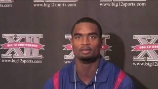 KU safety Darrell Stuckey talks about 2009 expectations