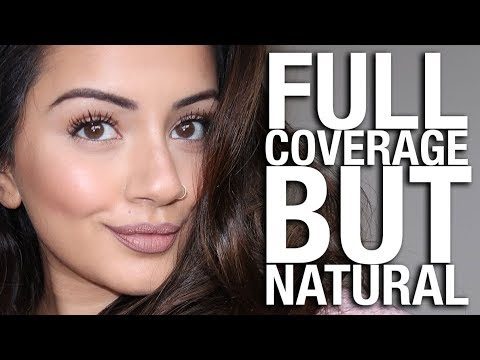 'NATURAL' BUT FULL COVERAGE MAKEUP TUTORIAL   KAUSHAL BEAUTY