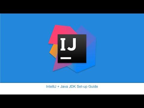 IntelliJ + Java JDK Set up Guide