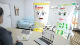 New: GEHWOL Soft Feet Scrub And Cream