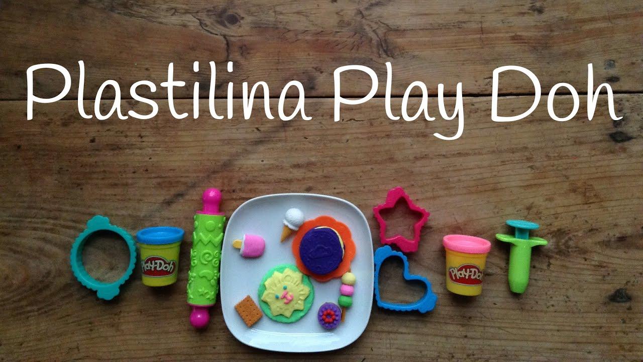 Play Doh GALLETAS de plastilina | Juguetes de Play Doh en español