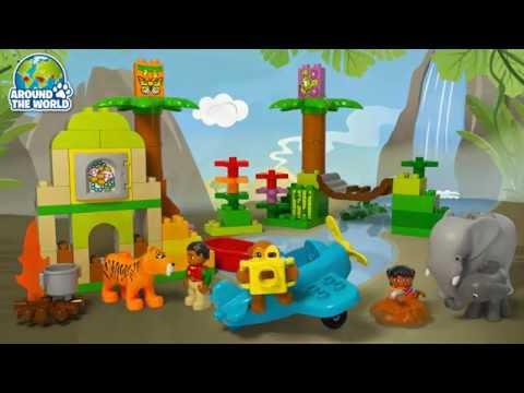 Vidéo LEGO Duplo 10560 : Les animaux de la jungle