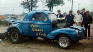 Gassers  At 131 Dragway In The '60s
