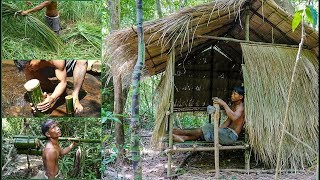 real life in the forest with primitive technology  full video  02
