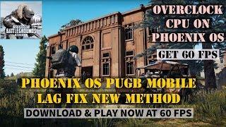 PHOENIX OS | FIX PUBG MOBILE LAG 0 13 AFTER TDM UPDATE | ENJOY LAG