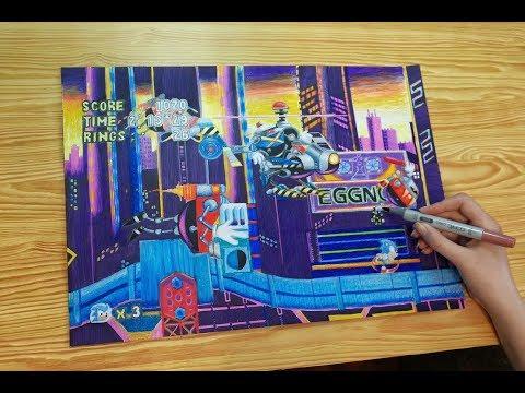 Download Sonic Mania Studiopolis Zone Act 1 Boss Fight Video 3GP Mp4