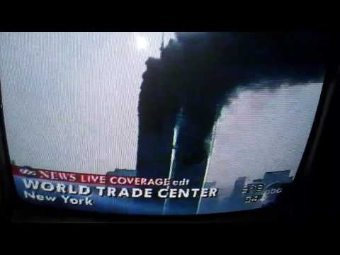 9 11 real-time VHS recording of Live coverage