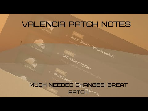 Black Desert Online Xbox One | Valencia Patch Notes | May 8th Patch