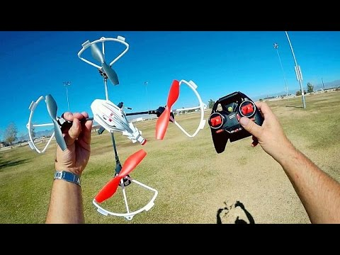 Air Hogs Helix Sentinel Drone Flight Test Review Part 1
