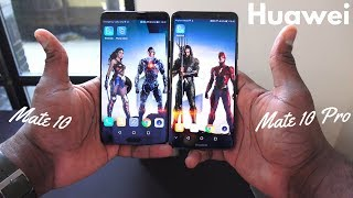 Huawei Mate 10 & Huawei Mate 10 Pro First Hands-on