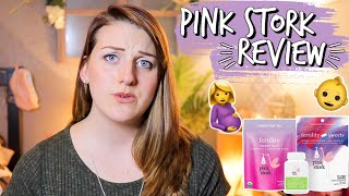 TTC | Trying to Conceive | Pink Stork Fertility Bundle Honest Review | Tiffanie Michelle