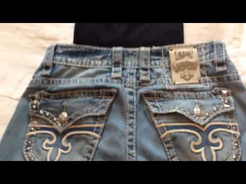 What do you wear with Rock Revival Jeans? (Or any pair with a lot of stitching) – [720p] HD