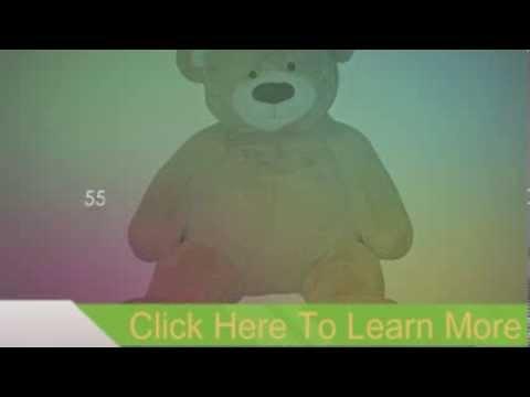 "55"" Valentine Jumbo Plush Teddy Bear"