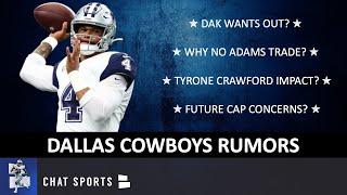 Dak Doesn't Want To Play For Dallas? + Cowboys Rumors On Jamal Adams, Jourdan Lewis, Tyrone Crawford