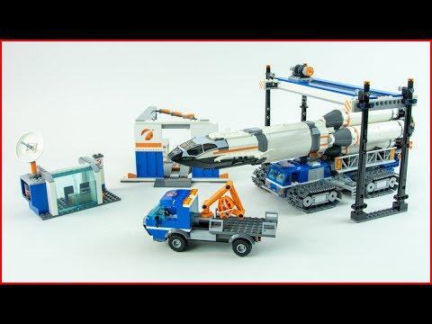 LEGO CITY 60229 Rocket Assembly &Transport Construction Toy - UNBOXING