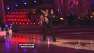 Nicole Scherzinger & Derek Hough - Dancing With The Stars - Argentine Tango  Week 9