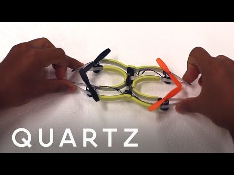 Soft Drones Designed to Bounce Off Walls