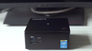 Gigabyte i3 Broadwell Brix Full Review!- Best cheap compact PC/HTPC? [i3-5010U]