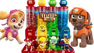 Best Learning Colors for Children with Paw Patrol M&M