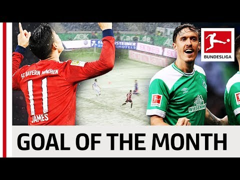 Top 10 Goals March - Vote For The Goal Of The Month