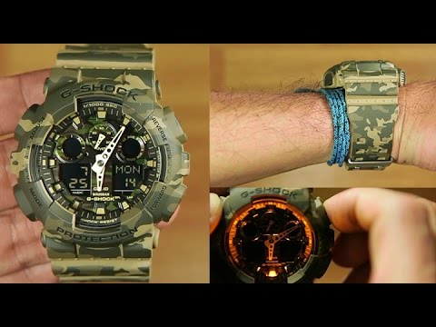 Casio G-shock GA-100CM-5A Special Color : Unboxing