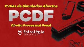 Simulados PCDF: Direito Processual Penal - Correção