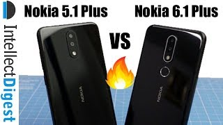 Nokia 6.1 Plus (Nokia X6) VS Nokia 5.1 Plus (Nokia X5) Comparison
