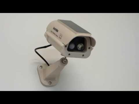 How to use SecurityMan DUMCAM_SLM Solar Powered Spotlight Dummy Camera with PIR Motion Sensor