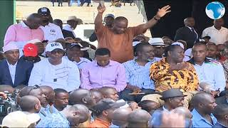 Governor Kiraitu welcomes Governors for the BBI rally in Meru