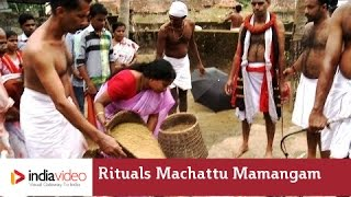 Rituals of Machattu Mamangam