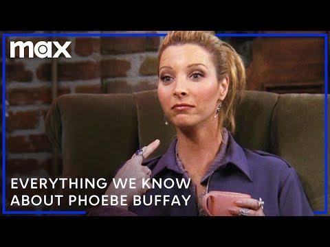 Video trailer för Phoebe Buffay's Shocking Life Story   Friends   HBO Max