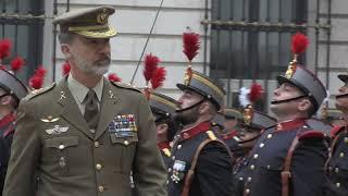 Visita de S.M. el Rey al Cuartel General del Ejército de Tierra