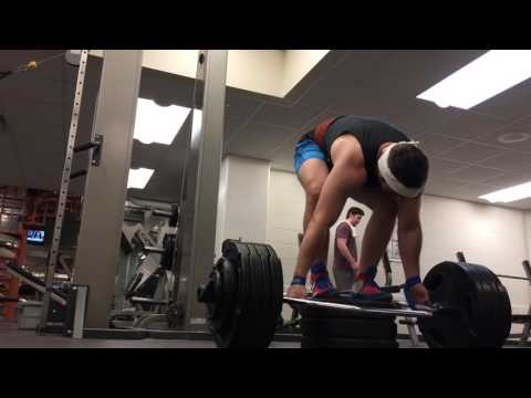 500 lbs Mega Deficit Trap Bar Deadlift