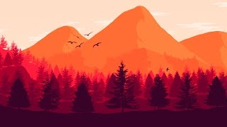Как создать 2D пейзаж в Фотошопе - Туториал - PhotoShop CS6