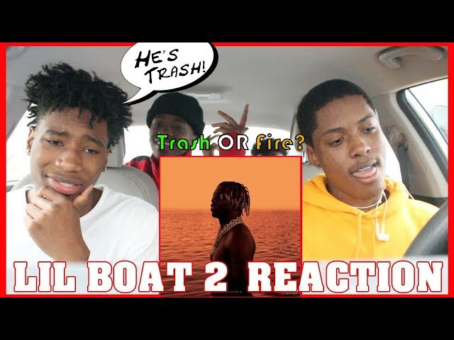 LIL BOAT 2 ALBUM REVIEW WITH LIL YACHTY HATER | TRASH OR FIRE !?